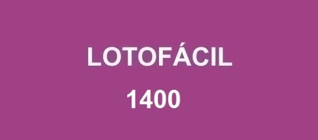 Nessa sexta-feira (12) será divulgado o resultado da Lotofácil 1400
