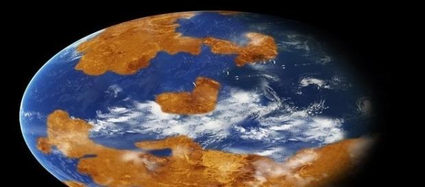 Simulação computadorizada mostra Vênus com oceano e atmosfera parecida à da Terra (NASA)
