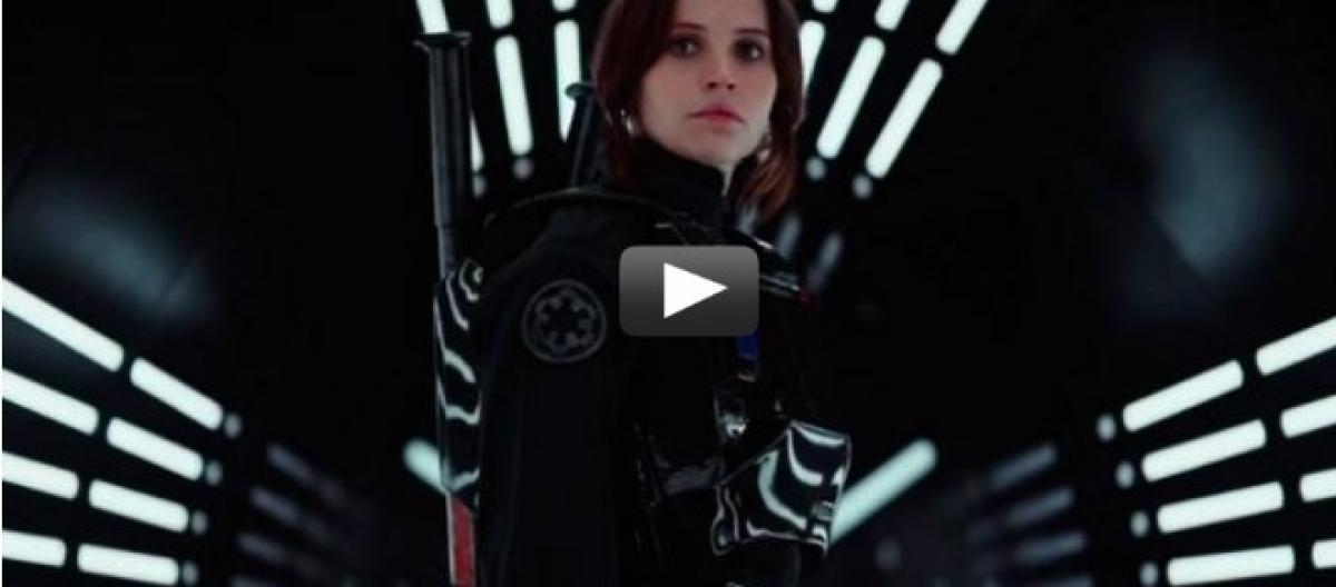 Rogue One: 'A Star Wars story' new official movie trailer