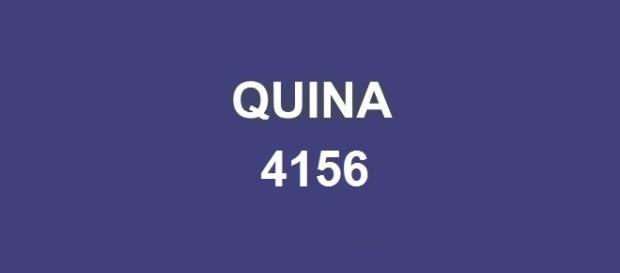 Divulgado nesta sexta-feira (12) o resultado da Quina 4156