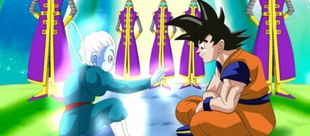 Dragon Ball Super : Son Gokú y el alumno de zeno sama