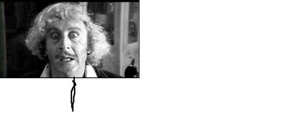 Gene Wilder nei panni del Dr Frankestein