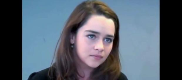 No, the Khaleesi was not always blonde!/Photo via Screen capture from https://www.youtube.com/watch?v=oCh9obs8Xag