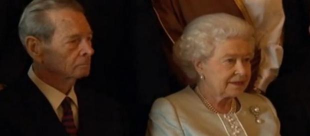 Regele Mihai I al României și Regina Elisabeta a II-a a Marii Britanii