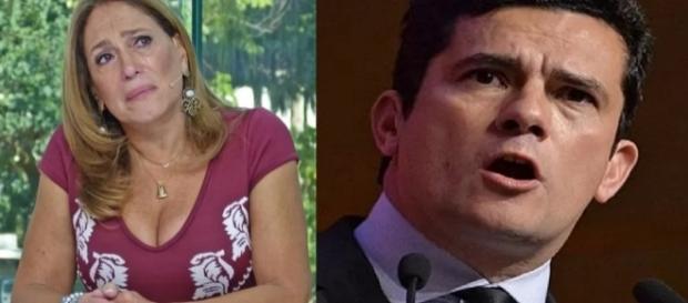 Susana Vieira chora em programa ao vivo
