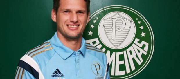 Vagner, goleiro do Palmeiras, perdeu a titularidade.