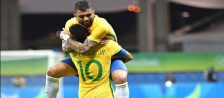 Seleção Brasileira Olímpica de Futebol.