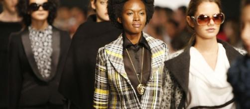Modelos negros que fazem sucesso na moda.