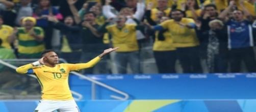 Neymar comandou o time brasileiro em vitória contra a Colômbia