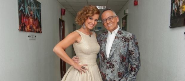 Goucha e Cristina são os apresentadores escolhidos