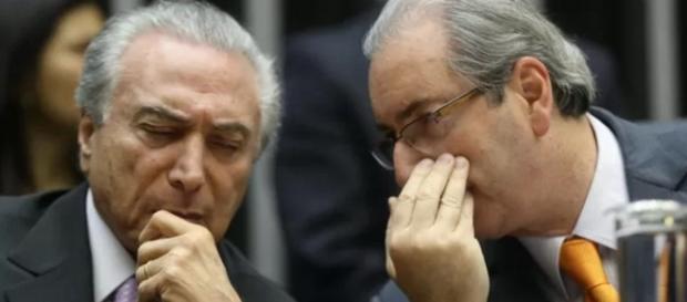 Michel Temer ouve recadinho de Eduardo Cunha
