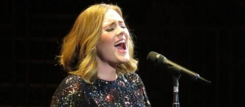 Adele in concert, 2016 World Tour. Photo c/o Wikimedia Commons.