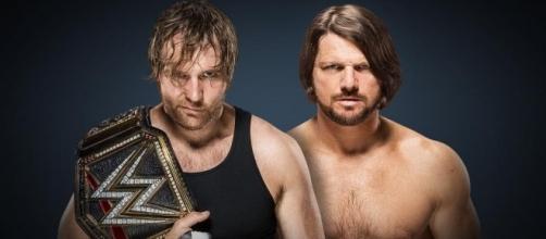 Dean Ambrose vs. AJ Styles [Image via WWE]