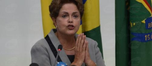 Foto: Presidente afastada, Dilma