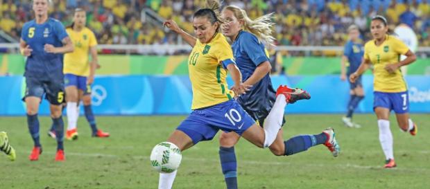 Brasil enfrenta a Suécia nas semifinais das Olimpíadas