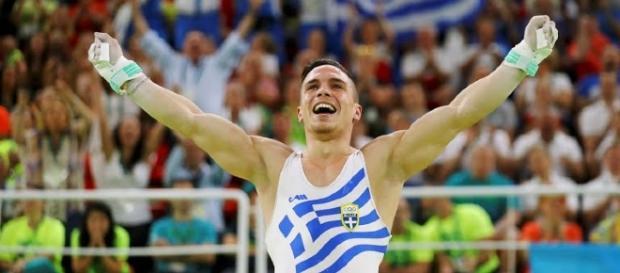 Ginasta grego, Eleftherios Petrounias, conquistou a medalha de ouro nos Josgos Olímpicos Rio 2016