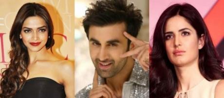 Bollywood's love triangles --- Image from: magnamags.com/live-feed/latest-gossip/ranbir-kapoor-wants-deepika-padukone-not-katrina-kaif/3326
