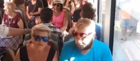 Tram Alicante-Benidorm abarrotado