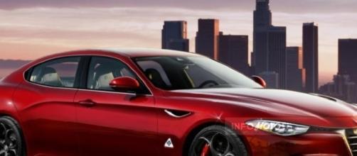 Alfa Romeo Alfetta - Il rendering di Krisch