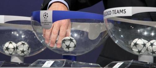 Sorteggio fase a gironi di Champions League