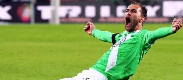 Bas Dost, avançado holandês do Wolfsburgo
