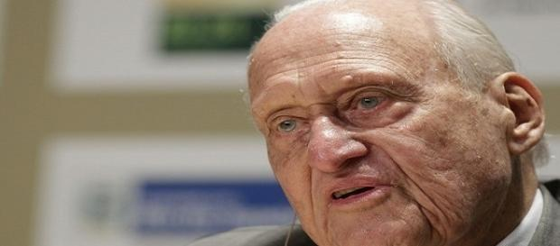 Ex-presidente da FIFA, Havelange morre no Rio aos 100 anos (Foto: Felipe Dana/AP)