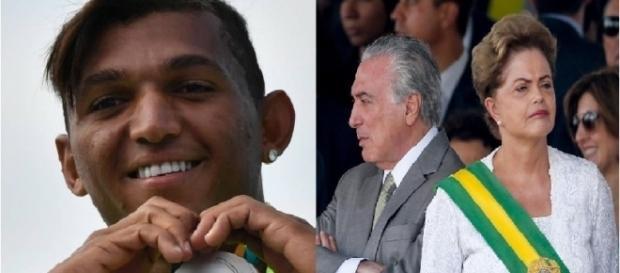 Isaquias Queiroz pede fim de brigas políticas