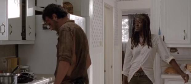 Rick and Michonne's future on 'The Walking Dead' - Photo via YouTube