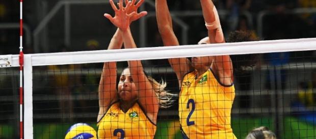 Vôlei feminino do Brasil joga contra a China pelas quartas de final das Olimpíadas 2016
