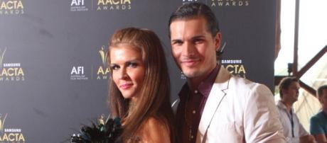 Gleb Savchenko and wife Elena Samodanova. Gleb could return for 'Dancing with the Stars' season 23, per an Aug. 17 report. Eva Rinaldi/Flickr