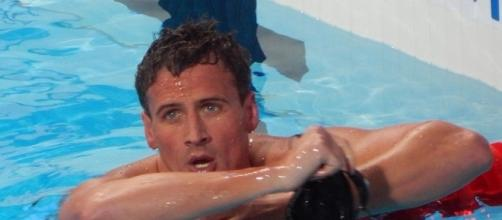 Ryan Lochte at the 2015 World Aquatics Championships in Kazan, Russia. Photo c/o Wikimedia Commons.