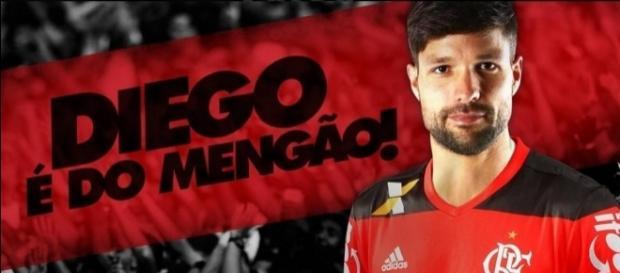 Diego está perto de estrear pelo Flamengo