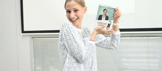 Giulia Enders, jovem investigadora alemã do intestino