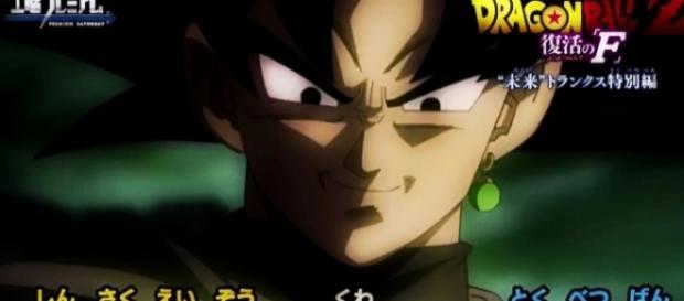 Imagen exclusiva de Goku Black brindada por el adelanto de este especial.