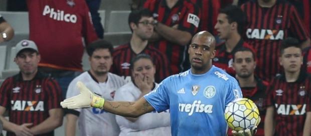 Jaílson, goleiro do Palmeiras.