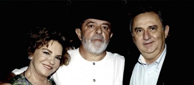 Pecuarista Bumlai, ex-presidente Lula e sua esposa Marisa