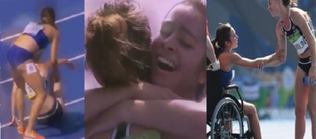 Queda e o espírito olímpico na Olimpíada