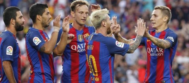 Vuelta de la Supercopa de España entre el Barça y el Sevilla