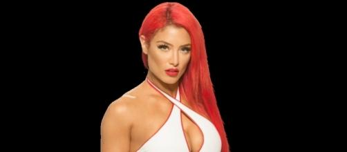 Eva Marie's debut on SmackDown has been postponed numerous times. Image c/o Wikia.