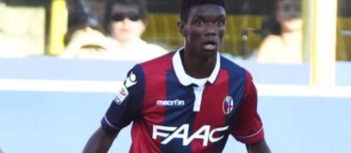 Ibrahima Mbaye, calciatore del Bologna.
