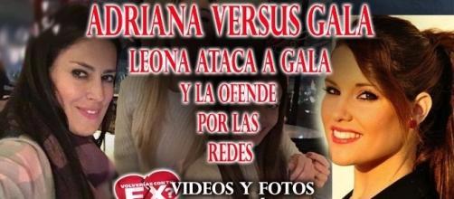 Los ataques de Adriana Barrientos a Gala