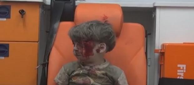 El niño sirio que conmueve al mundo