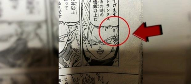 Goku se enfrenta a Trunks en el manga 15 de Dragon Ball Super.