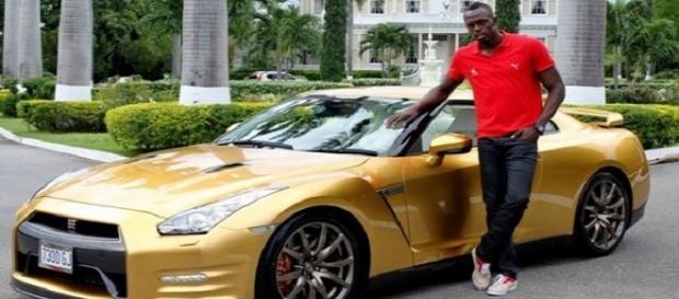 Usain Bolt tem uma fortuna avaliada em cerca de U$ 30 milhões