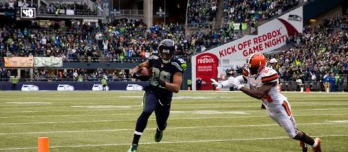 Doug Baldwin catches a pass at CenturyLink Field - seattlepi.com (Blasting News Search)