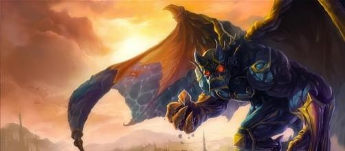Galio, campeón de League of Legends.