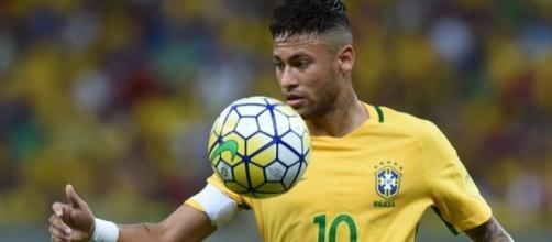Neymar garantiu o primeiro gol ainda no primeiro tempo, aos 26 minutos