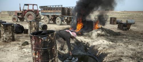 Piccolo giacimento petrolifero