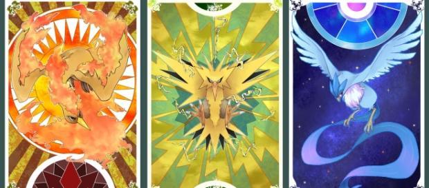 Las tres aves legendarias se dan a conocer dentro de PGO.
