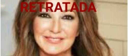 Ana Rosa Quintana siendo retratada